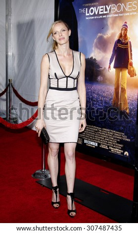HOLLYWOOD, CA - DECEMBER 07, 2009: Rachel Roberts at the Los Angeles premiere of 'The Lovely Bones' held at the Grauman's Chinese Theater in Hollywood, USA on December 7, 2009. - stock photo