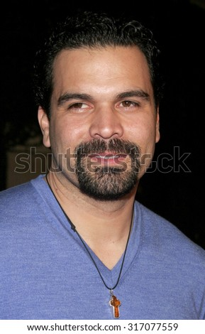 HOLLYWOOD, CA - DECEMBER 01, 2005: Ricardo Chavira at the World premiere of 'Aeon Flux' at the Cinerama Dome in Hollywood, USA on December 1, 2005.