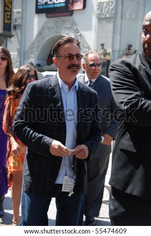 HOLLYWOOD, CA - JUNE 13: Actor Andy Garcia at the World Premiere of Disney/Pixar's 'Toy Story 3' on June 13, 2010 at the El Capitan Theatre in Hollywood, California. - stock photo
