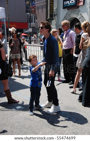 HOLLYWOOD, CA - JUNE 13: Actor Sterling Beaumon at the World Premiere of Disney/Pixar's 'Toy Story 3' on June 13, 2010 at the El Capitan Theatre in Hollywood, California. - stock photo