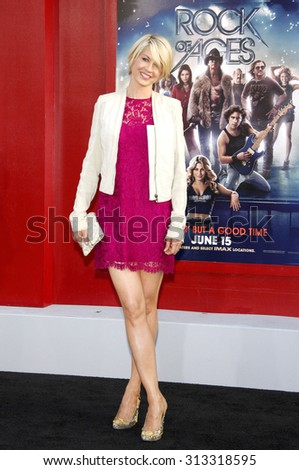 HOLLYWOOD, CA - JUNE 08, 2012: Jenna Elfman at the Los Angeles premiere of 'Rock of Ages' held at the Grauman's Chinese Theatre in Hollywood, USA on June 8, 2012.
