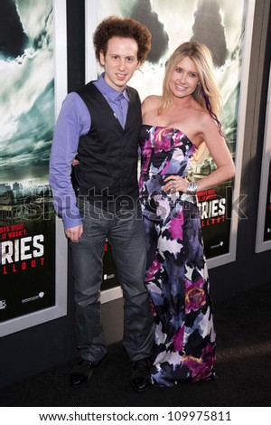 HOLLYWOOD, CA - MAY 23: Josh Sussman and Tess Hunt arrive at the Special Fan Screening of Chernobyl Diaries at the Cinerama Dome on May 23, 2012 in Hollywood, California.