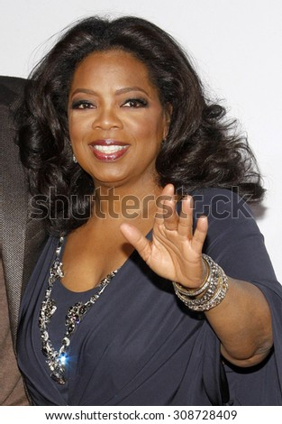 HOLLYWOOD, CA - NOVEMBER 01, 2009. Oprah Winfrey at the AFI FEST 2009 Screening of 'Precious' held at the Grauman's Chinese Theater in Hollywood, USA on November 1, 2009. - stock photo