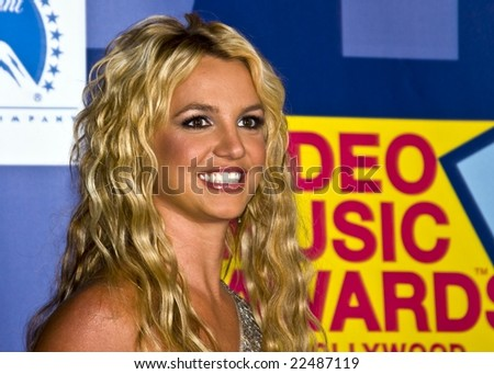 HOLLYWOOD, CA - SEPTEMBER 7: Britney Spears in the press room at the 2008 MTV Video Music Awards at Paramount Pictures Studio in Hollywood, California - stock photo