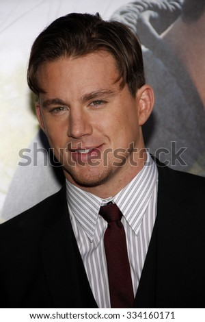 "HOLLYWOOD, CALIFORNIA - February 1, 2010. Channing Tatum at the World premiere of ""Dear John"" held at the Grauman's Chinese Theater, Hollywood."