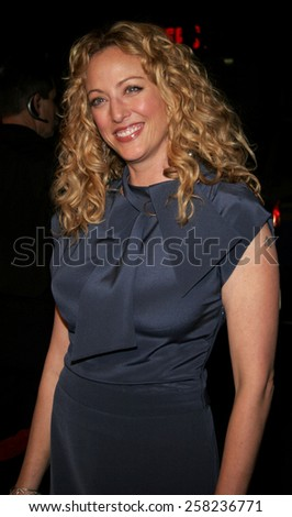 "HOLLYWOOD, CALIFORNIA. February 2, 2006. Virginia Madsen attends the Warner Bros World Premiere of ""Firewall"" held at the Grauman's Chinese Theatre in Hollywood, California United States."