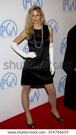 HOLLYWOOD, CALIFORNIA - January 22, 2010. Lori Singer at the 22nd Annual Producers Guild Awards held at the Beverly Hilton hotel, Los Angeles.   - stock photo