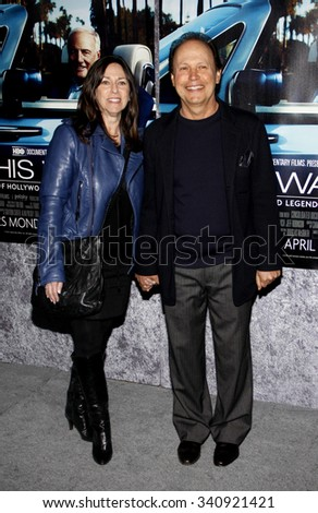 "HOLLYWOOD, CALIFORNIA - March 22, 2011. Billy Crystal at the Los Angeles premiere of ""His Way"" held at the Paramount Studios, Los Angeles.  - stock photo"