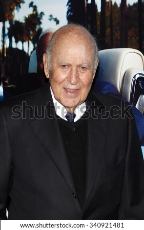 "HOLLYWOOD, CALIFORNIA - March 22, 2011. Carl Reiner at the Los Angeles premiere of ""His Way"" held at the Paramount Studios, Los Angeles."