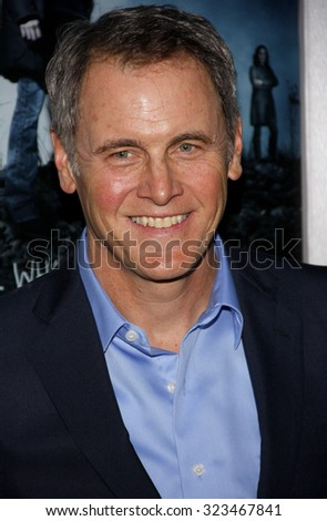 HOLLYWOOD, CALIFORNIA - March 26, 2012. Mark Moses at the Los Angeles Season 2 premiere of AMC's 'The Killing' held at the ArcLight Cinemas in Hollywood. - stock photo