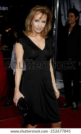 "HOLLYWOOD, CALIFORNIA - Monday March 7, 2011. Rebecca De Mornay at the Los Angeles premiere of ""Red Riding Hood"" held at the Grauman's Chinese Theater, Los Angeles."