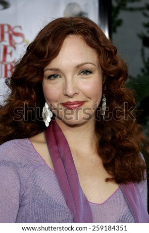 "HOLLYWOOD, CALIFORNIA. November 20, 2005. Amy Yasbeck at the ""Yours, Mine, and Ours"" Los Angeles Premiere at the Cinerama Dome in Hollywood, California United States."