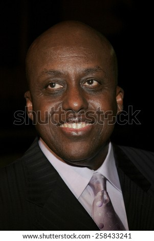 "HOLLYWOOD, CALIFORNIA. November 2, 2005. Bill Duke at the Paramount Pictures' ""Get Rich or Die Tryin'"" Los Angeles Premiere at the Grauman's Chinese Theatre in Hollywood, California United States. - stock photo"