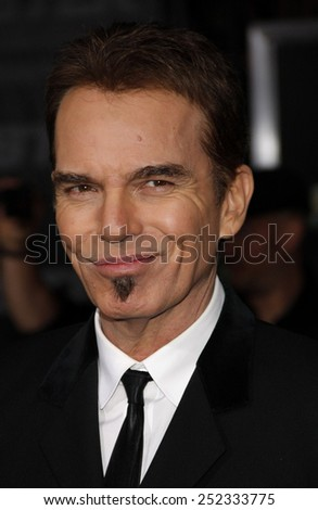 "HOLLYWOOD, CALIFORNIA - November 22, 2010. Billy Bob Thornton at the Los Angeles premiere of ""Faster"" held at the Grauman's Chinese Theater, Los Angeles. - stock photo"