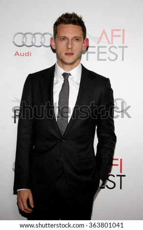 "HOLLYWOOD, CALIFORNIA - November 10, 2011. Jamie Bell at the AFI FEST 2011 ""The Adventures Of Tintin: The Secret Of The Unicorn"" Closing Night Gala held at Grauman's Chinese Theater, Los Angeles."