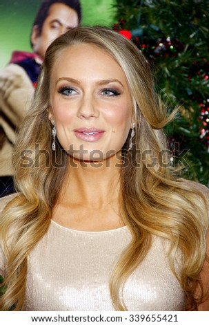 """HOLLYWOOD, CALIFORNIA - November 2, 2011. Melissa Ordway at the Los Angeles premiere of """"A Very Harold & Kumar 3D Christmas"""" held at Grauman's Chinese Theater, Los Angeles.  - stock photo"""