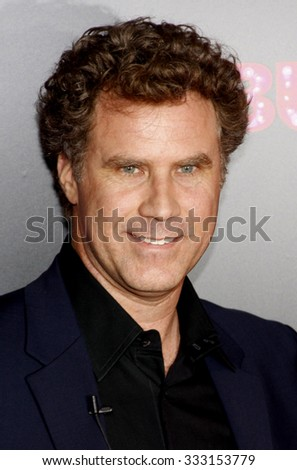 "HOLLYWOOD, CALIFORNIA - November 15, 2010. Will Ferrell at the Los Angeles premiere of ""Burlesque"" held at the Grauman's Chinese Theater in Hollywood. - stock photo"