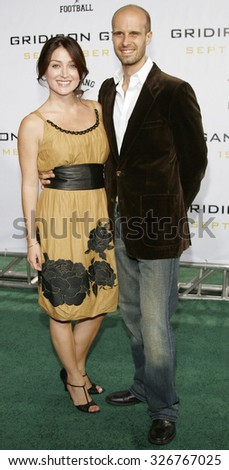 "HOLLYWOOD, CALIFORNIA. September 5, 2006. Edoardo Ponti and Sasha Alexander at the Los Angeles Premiere of ""Gridiron Gang"" held at the Grauman's Chinese Theatre in Hollywood, California USA."