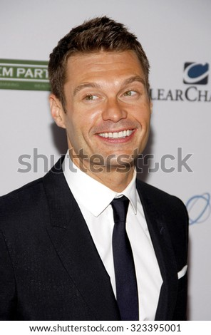 HOLLYWOOD, CALIFORNIA - September 27, 2011. Ryan Seacrest at the LA's Promise 2011 Gala held at the Kodak Theatre, Los Angeles.
