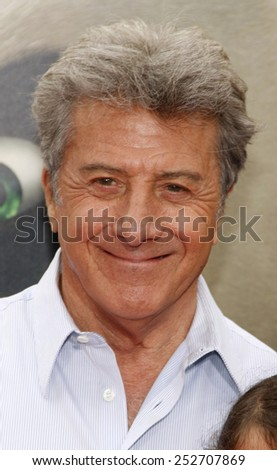 "HOLLYWOOD, CALIFORNIA - Sunday May 22, 2011. Dustin Hoffman at the Los Angeles premiere of ""Kung Fu Panda 2"" held at the Grauman's Chinese Theater, Los Angeles.  - stock photo"