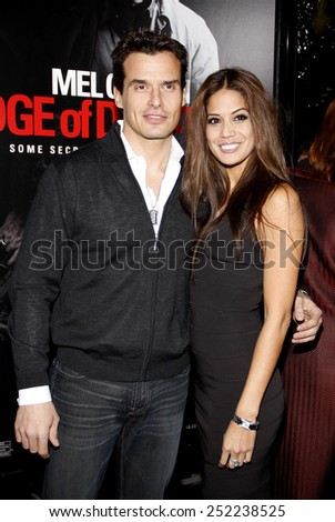 """HOLLYWOOD, CALIFORNIA - Tuesday January 26, 2010. Antonio Sabato Jr. at the Los Angeles premiere of """"Edge of Darkness"""" held at the Grauman's Chinese Theater, Hollywood. - stock photo"""