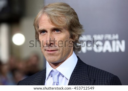 Hollywood, California; USA; April 22, 2013; Michael Bay arrives to the premiere of Pain & Gain in Hollywood, California.