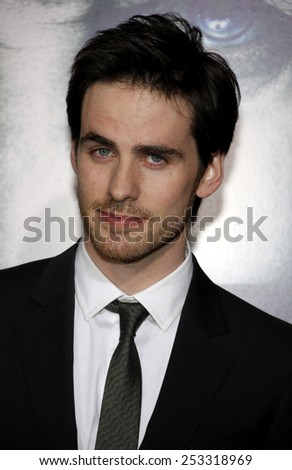 "HOLLYWOOD, CALIFORNIA - Wednesday January 26, 2010. Colin O'Donoghue at the Los Angeles premiere of ""The Rite"" held at the El Capitan Theater, Los Angeles."