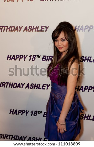 HOLLYWOOD - JAN 29: Anna Maria Perez De Tagle attends Ashley Argota 18th Birthday at the W Hotel Hollywood, January 29, 2011, in Hollywood, CA - stock photo