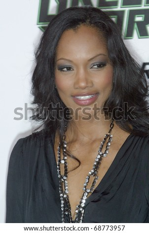 "HOLLYWOOD - JAN. 10:  Garcelle Beauvals arrives at the ""The Green Hornet"" premiere at Grauman's Chinese Theatre on Jan. 10, 2011 in Hollywood, CA."