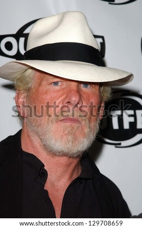 "HOLLYWOOD - JULY 10: Nick Nolte at the Premiere of ""Coffee Date"" at DGA-Theatre One on July 10, 2006 Hollywood, CA."