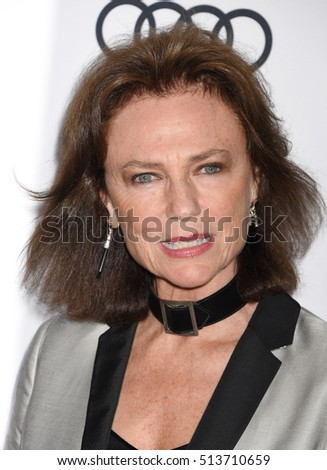 "HOLLYWOOD - NOV 10:  Jacqueline Bisset  arrives to the AFI FEST 2016 ""Rules Don't Apply"" World Premiere Opening Night Gala  on November 10, 2016 in Los Angeles, CA"