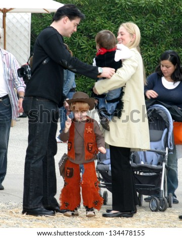 - stock-photo-hollywood-october-brendan-fraser-and-his-wife-sons-at-camp-ronald-mcdonald-th-annual-134478155