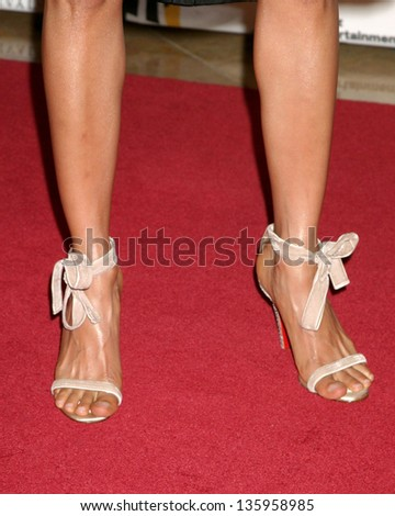 HOLLYWOOD - OCTOBER 24: Thandie Newton participates at Hollywood Film Festival Gala in Beverly Hilton Hotel October 24, 2005 in Los Angeles, CA. - stock photo
