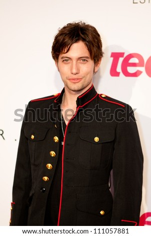"HOLLYWOOD - SEPT 23: Jackson Rathbone attends the 9th Annual Teen Vogue ""Young Hollywood"" Party Sponsored by Coach, September 23, 2011 in Hollywood, CA - stock photo"