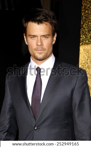 "HOLLYWOOD, USA - DECEMBER 5: Josh Duhamel at the Los Angeles Premiere of ""New Year's Eve"" held at the Grauman's Chinese Theatre in Los Angeles, USA on December 5, 2011. - stock photo"