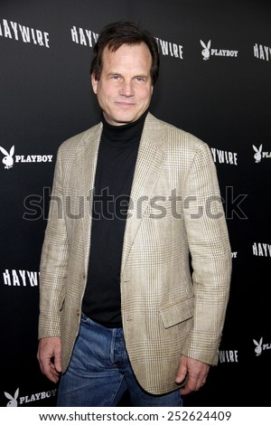"HOLLYWOOD, USA - JANUARY 5: Bill Paxton at the Los Angeles Premiere of ""Haywire"" held at the DGA Theater in Los Angeles, USA on January 5, 2012. - stock photo"