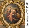holy Family from Vienna church - stock photo
