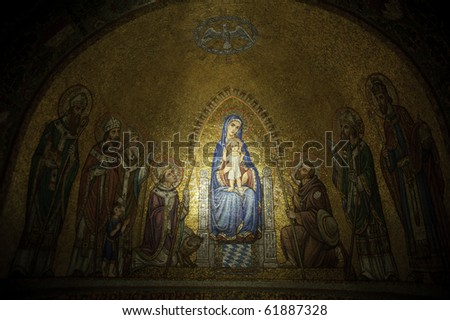 holy Mary - stock photo