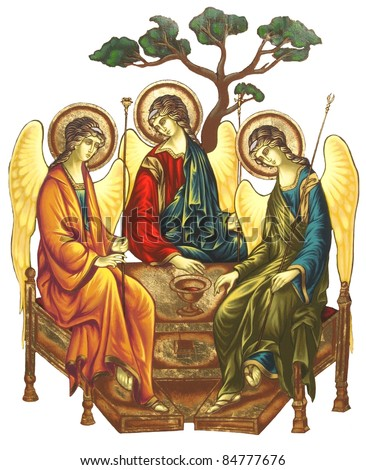 Holy Trinity - stock photo