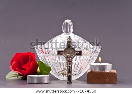 Holy Water Blessing - stock photo