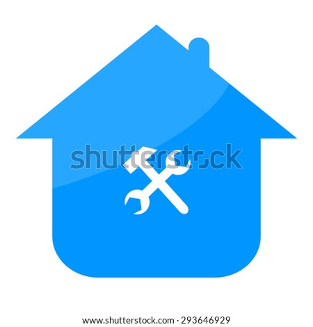 Home and tools - stock photo