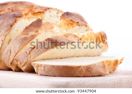 Home-baked bread - stock photo