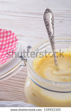 home-baked mayonnaise