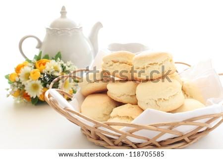 home bakery food, scone English breakfast image - stock photo