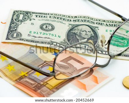 Home budget planing ahead - stock photo