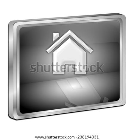 Home Button - stock photo