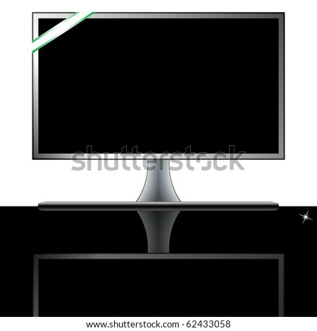 home cinema system against white background, abstract  art illustration; for vector format please visit my gallery