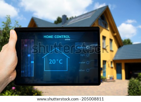 Home Control - stock photo
