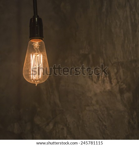 home decoration lighting - stock photo