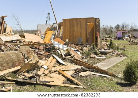Home destroyed, Cold front bringing tornadoes & straight line winds